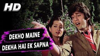 Download Dekho Maine Dekha Hai Ye Ek Sapna | Amit Kumar, Lata Mangeshkar | Love Story Songs | Kumar Gaurav Video