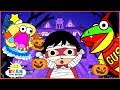 Download Ryan Kids Halloween Trick or Treat to the Haunted House! Cartoon Animation For Children Video