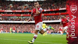 Download Arsenal - Top five team goals Video