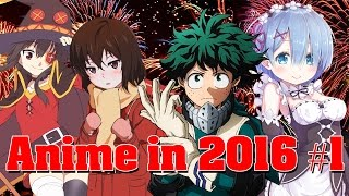 Download Anime in 2016 Part 1 - Winter/Spring Video