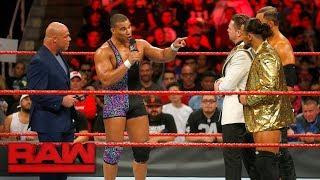 Download Jason Jordan defends his father against The Miz: Raw, Sept. 18, 2017 Video
