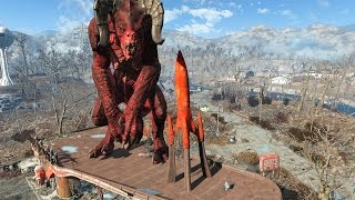 Download FALLOUT 4 - ALL GIANT MONSTERS FOUND!!! Video