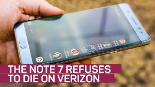 Download Samsung's Note 7 refuses to die on Verizon Video