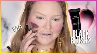 Download WORLD'S WORST BLUSH?? Testing BLACK CREAM BLUSH! Video