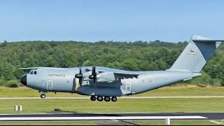 Download FIRST VISIT A400M, 54-01, German AF, Arrival Video