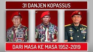 Download DANJEN KOPASSUS Komandan Jenderal Komando Pasukan Khusus TNI AD 1952 2019 Video