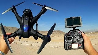 Download X183 Double GPS Follow and Circle Me FPV Camera Drone Flight Test Review Video