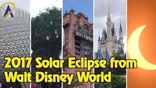 Download Solar Eclipse Time-Lapse From All Four Walt Disney World Theme Parks Video