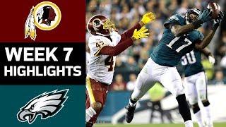 Download Redskins vs. Eagles | NFL Week 7 Game Highlights Video