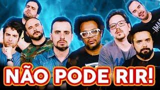 Download NÃO PODE RIR! com OS TRÊS TERRORES (Marcelo Marrom, Dinho Machado e Bruno Romano) e Diogo Portugal Video