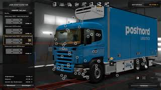 Download (Ets2 1.30)Scania Rjl Kraker and NTM Addon Video