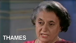 Download Indira Gandhi Interview | TV Eye | 1978 Video