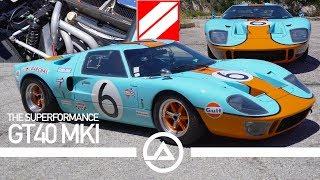 Download Superformance Ford GT40 Mk1   LeMans Winning Ferrari Killer Video