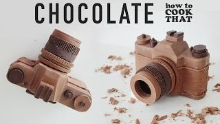 Download CHOCOLATE CAMERA How To Cook That Ann Reardon chocolate camera Video