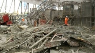 Download Dozens killed in China construction collapse Video
