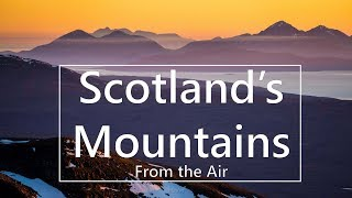 Download Scotland's Mountains – Aerial Landscapes from Scotland's Stunning Mountains ( drone ) Video
