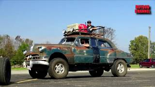 Download Rust Rebellion - Action Packed Rat Rod Car Show Video
