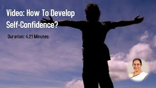 Download How to develop Self confidence? Video