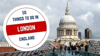 Download 50 Things to do in London Travel Guide Video