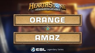 Download Hearthstone - Orange vs. Amaz - ESL Legendary Series Katowice - Grand Final Video