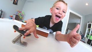 Download FATHER SON HOMEMADE FINGERBOARD! Video