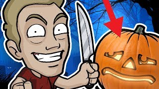 Download PUMPKIN CARVING CHALLENGE - Halloween Friday 13th Special! Video