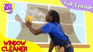 Download Let's Play: Window Cleaner | FULL EPISODE | ZeeKay Junior Video