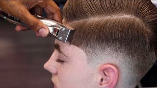Download HAIRCUT TUTORIAL: MENS COMBOVER | BLOW DRY & STYLE Video