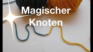 Download Magischer Knoten | Zwei Knäuel miteinander verbinden Video