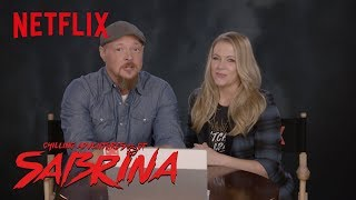 Download Chilling Adventures of Sabrina   The Cast of Sabrina The Teenage Witch Reacts   Netflix Video