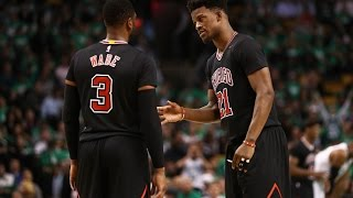 Download Jimmy Butler, Rajon Rondo, and Dwyane Wade Lead Bulls To 2-0 Series Lead! | April 18, 2017 Video