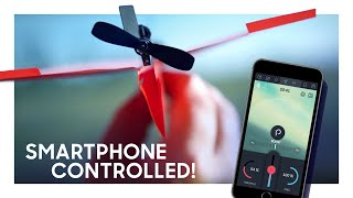 Download POWERUP 3.0 Smartphone Controlled Paper Airplane Kickstarter Video