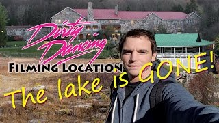 Download The Lake is Gone?! Dirty Dancing Filming Location ! Mountain Lake Hotel Video