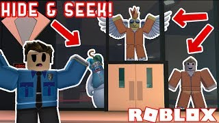 Download 4 Person Hide and Seek in Roblox Jailbreak! *PART 2* Video
