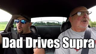 Download Dad Drives My Single Turbo Toyota Supra Video