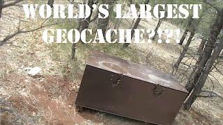 Download WORLD'S LARGEST GEOCACHE?!?! Video