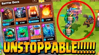 Download Best Lava Hound Inferno Dragon Deck ? | Clash Royale Live Battles Video