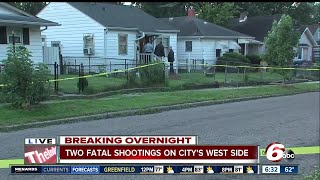 Download A man is dead after a shooting at a west side home Video