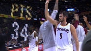 Download Kevin Love RIDICULOUS 34 Point Quarter l 11.23.16 Video