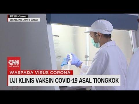 Uji Klinis Vaksin Covid-19 Asal Tingkok