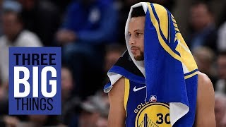 Download Three Big Things: Warriors beat Jazz in a epic shooting contest Video
