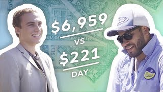 Download Earning $7,000 vs $220 in a Day: Real Estate Agent & Pool Cleaner Video