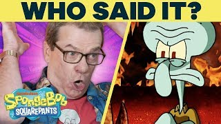 Download Squidward or Kanye West?! 🗣️ WHO Said It? w/ SpongeBob Cast @ Comic-Con | #SpongeBobSaturdays Video