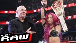 Download WWE Raw Review 11/28/16: Sasha Banks Defeats Charlotte in Charlotte   REVIEW-A-RAW Video