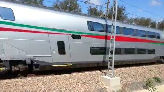 Download The first Moroccan LGV (TGV) train Video