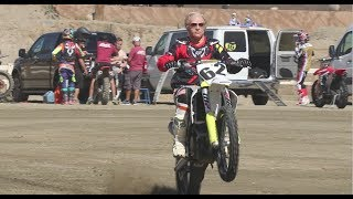 Download 80 YEAR OLD GRANDPA EARL SHREDS DIRT BIKE Video