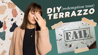 Download Reattempting my DIY terrazzo FAIL (it worked!) Video