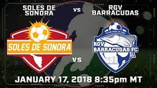Download Soles de Sonora vs RGV Barracudas Video