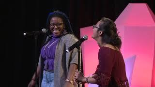 Download KRISTINA + LESLEY-ANN | Lesley & Kristina | TEDxUTSC Video