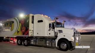 Download Mack Super-Liner 685 with 60-inch sleeper | Review | Truck TV Australia Video